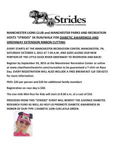 Lions Strides 5k walk/run